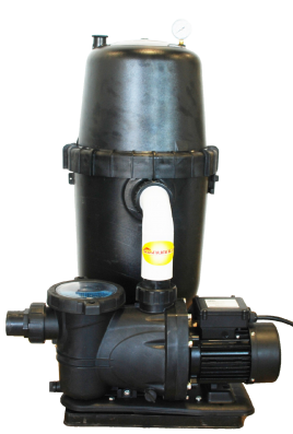 Complete cartridge filter systems for above ground pools for Pool filter equipment
